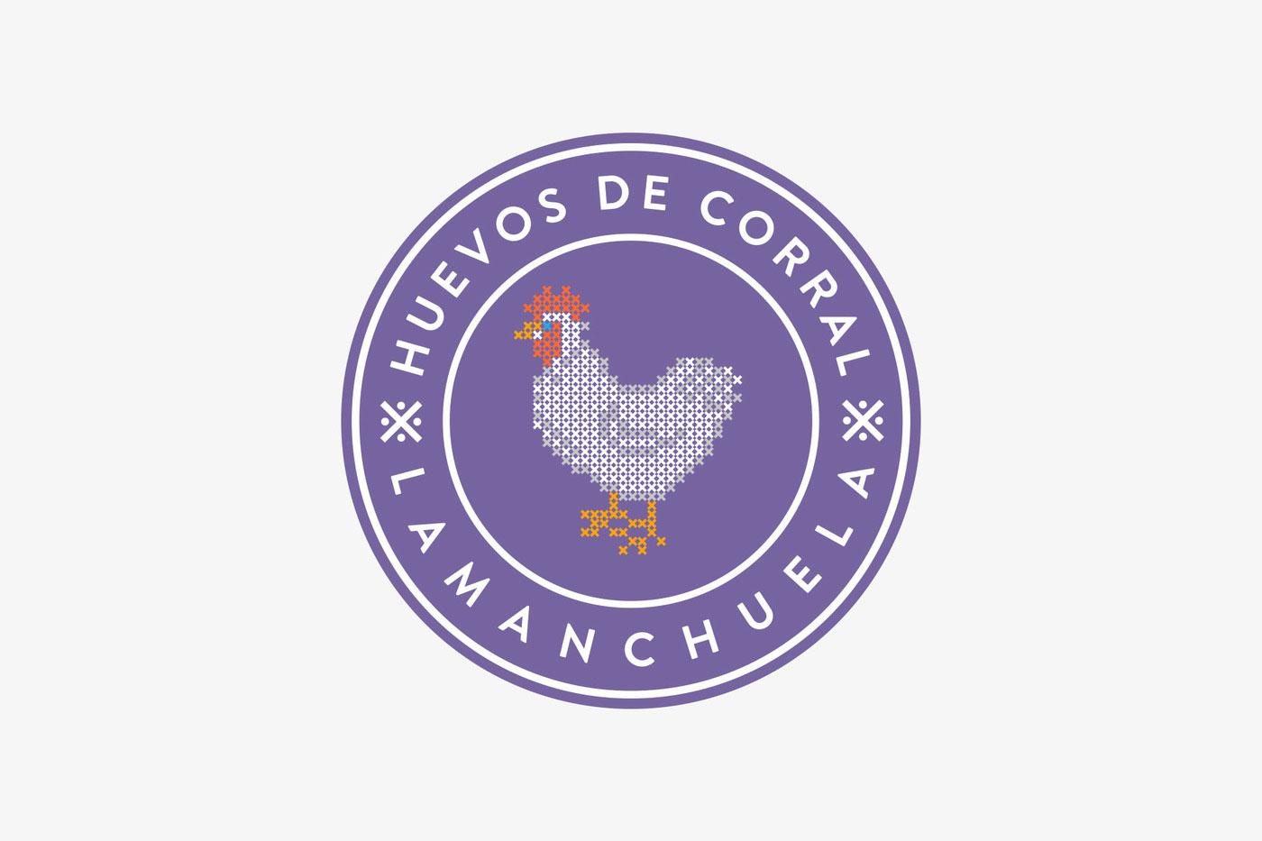 Grandma Pilar's farm 农场品牌设计