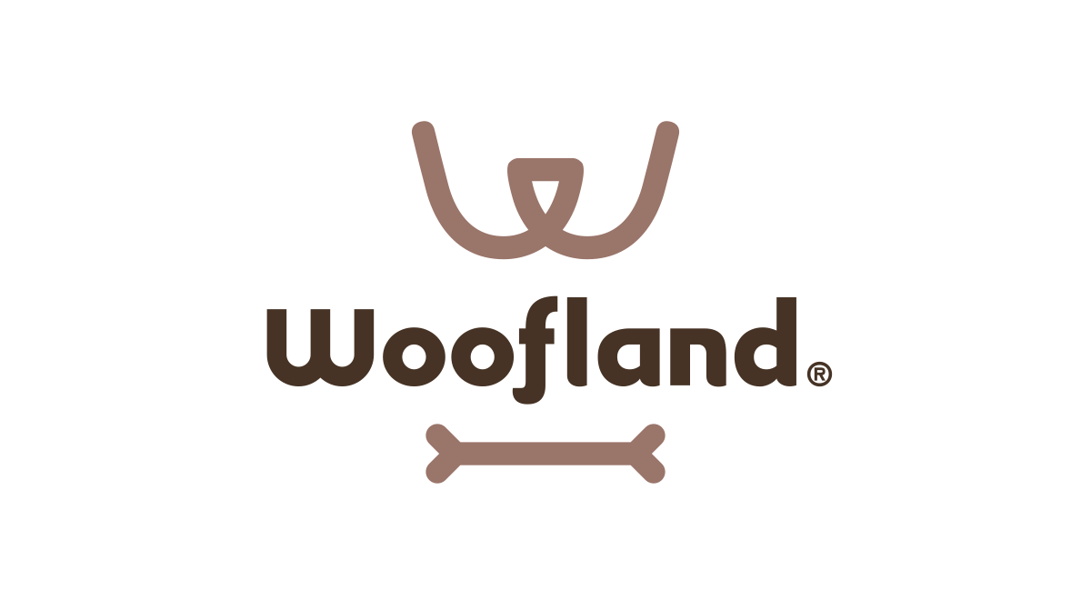 Woofland宠物网站Logo设计