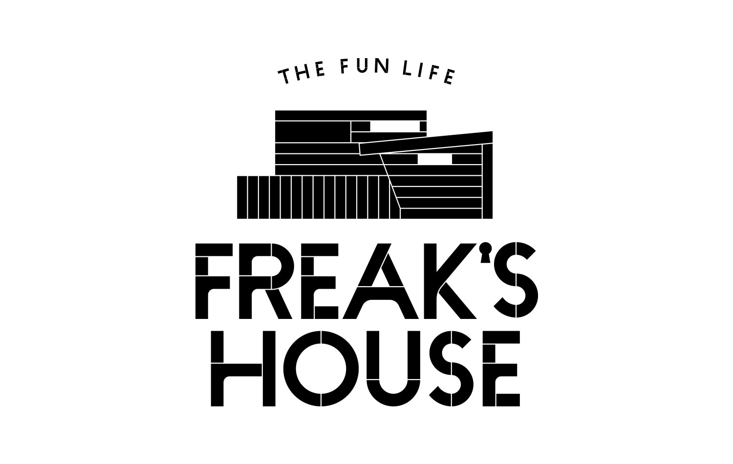 日本 FREAK'S HOUSE 民宿logo設計